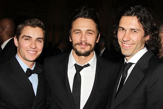 20 Cool Siblings In Hollywood You DIDN'T Know About #refinery29  http://www.refinery29.com/secret-celebrity-siblings#slide-19  Dave, James, and Tom Franco You know about Dave and James Franco. They're both actors, and James does some other things on the side (many, many things). But, there's a third Franco floating around out there, and he may be the most creative one of them all. Middle brother Tom is a sculptor, painter, and illustrator who has an art collective with five locations in…
