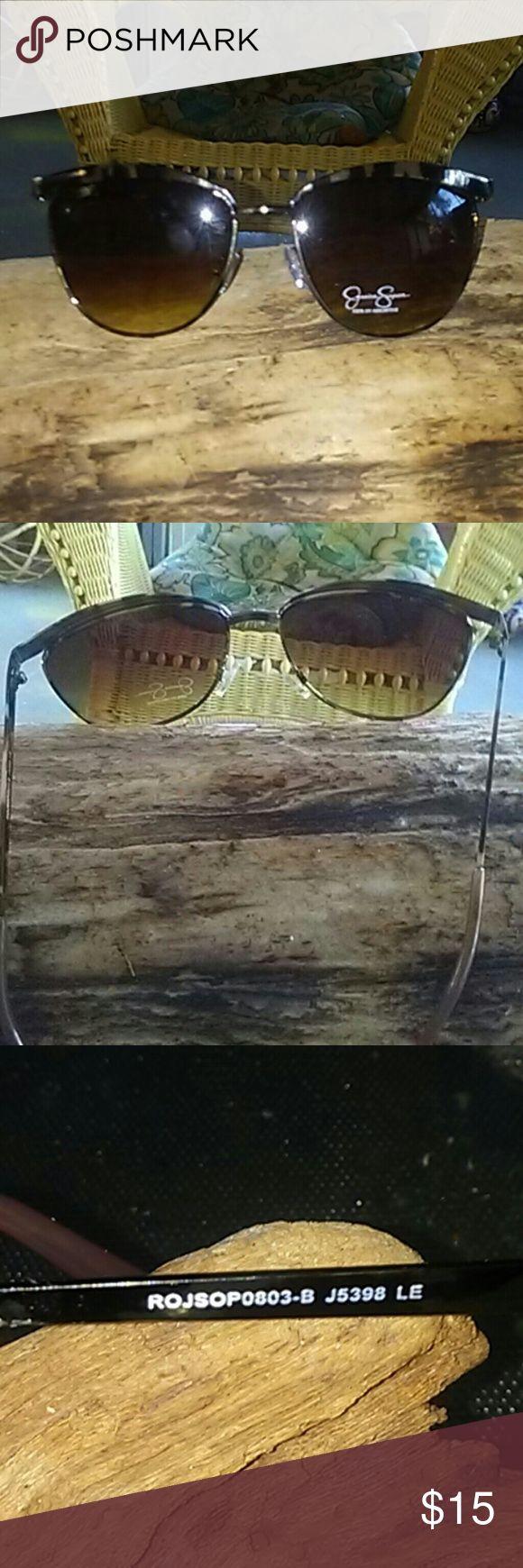 Jessica Simpson retro sunglasses Perfect condition Brown lens tortoise shell rims Jessica Simpson  Accessories Sunglasses