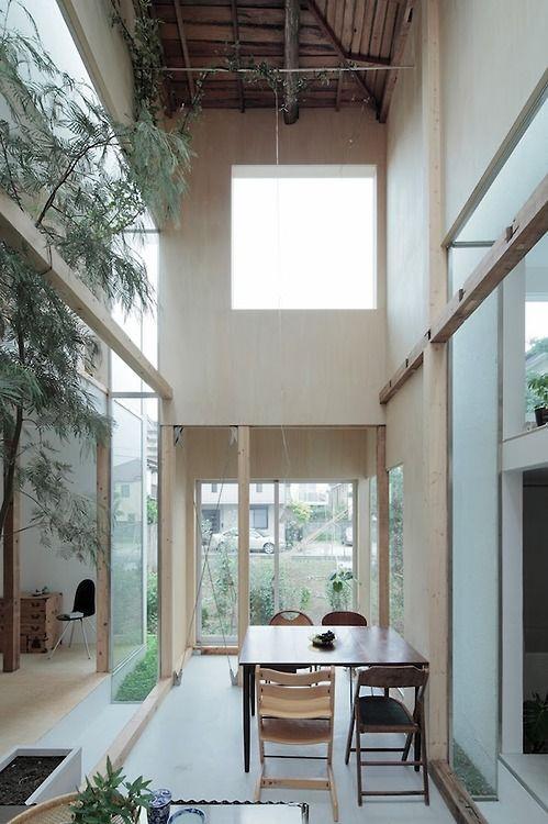anabundanceof:  House Komazawa Park by miCo