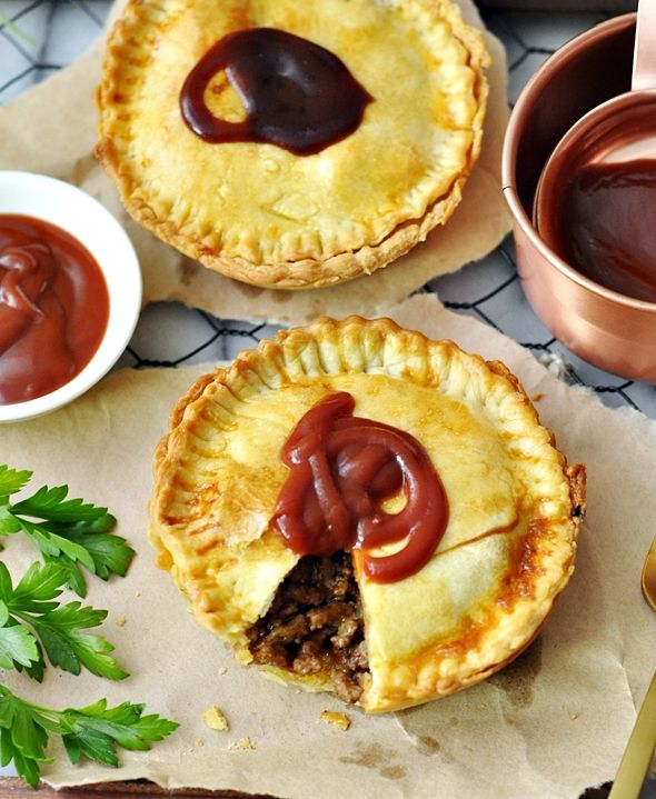 Australian Meat Pie Recipe with Olive Oil Shortcrust Pastry (Dairy Free Recipe) | www.fussfreecooking.com