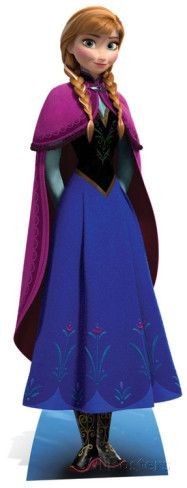 Anna - Frozen-Il regno di ghiaccio Sagome