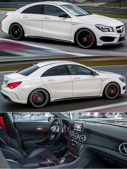 Mercedes Benz CLA45 AMG. Hmm, possible first Mercedes? Thank you short sell and long based stocks.