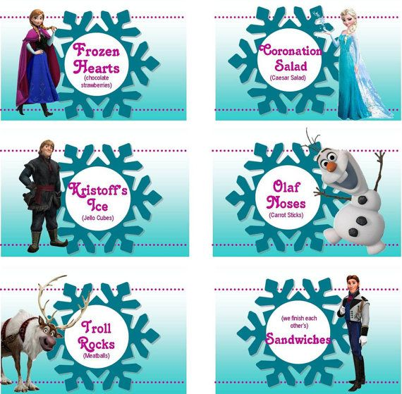 image relating to Free Printable Frozen Food Labels named Totally free Frozen Social gathering Printable Tags Paging Supermom -