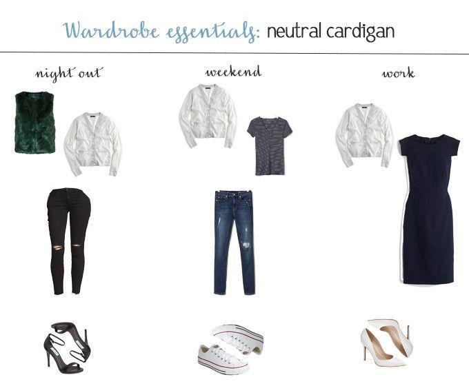 Wardrobe Essentials: Neutral Cardigan