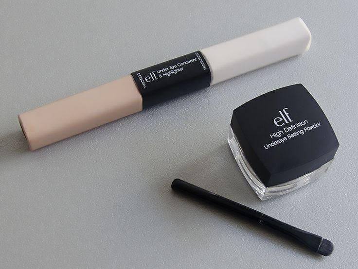 La lutte contre mes cernes à petit prix, avec e.l.f. !  #blog #beaute #maquillage #makeup #cernes #anticernes #duo #enlumineur #illuminateur #poudre #HD #regard #frais #reveille #elf http://mamzelleboom.com/2014/01/06/anti-cernes-et-enlumineur-elf-pour-regard-frais-et-repose/