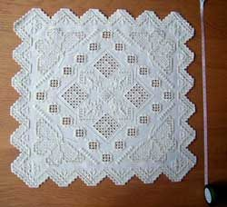 229 best Borduren Hardanger images on Pinterest ...