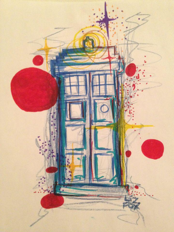Pretty TARDIS.