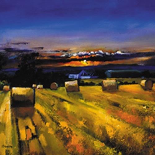 Art Prints Gallery - Harvest Sunset (Limited Edition), £125.00 (http://www.artprintsgallery.co.uk/Davy-Brown/Harvest-Sunset-Limited-Edition.html)