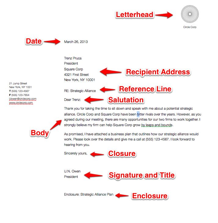 Best 25+ Business Letter Example Ideas On Pinterest | Writing A