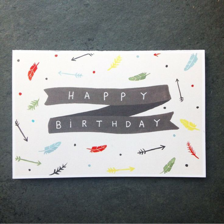 Beautiful happy birthday card from jade fisher. Great for a range of recipients