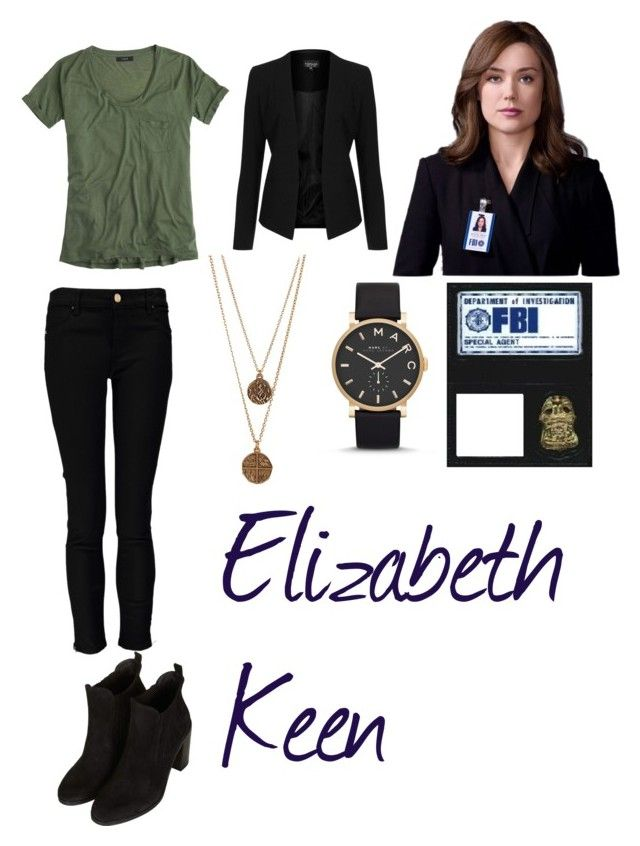 """""""Elizabeth Keen (The Blacklist)"""" by kaitybug-believes ❤ liked on Polyvore"""