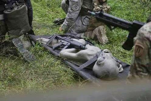 UFOLOGIA - OVNIS ONTEM: UFO Abatido, Militares Capturam ALIEN Morto