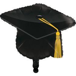 Black Graduation Cap Party Card Box
