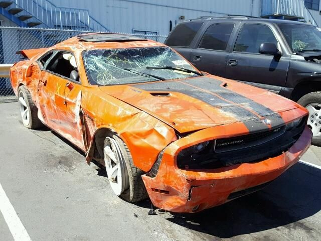 Salvage 2009 Dodge Challenger Srt 8 Small Luxury Cars Salvage Cars Sports Cars