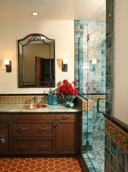 1000 Ideas About Spanish Style Bathrooms On Pinterest Southwestern Bathroom Sinks Spanish