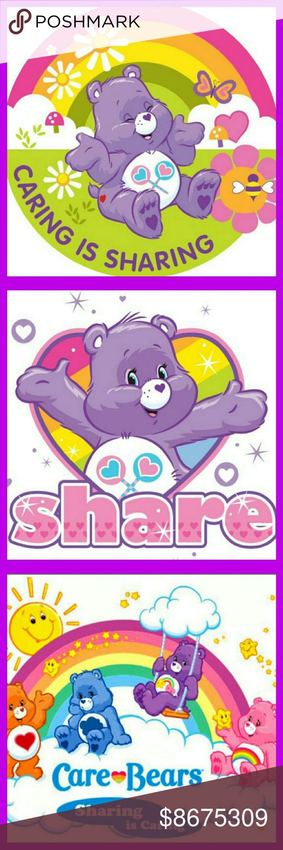 I'm a Share Bear! Sharing is definitely caring here in the land of Poshmark! Christine's Findings  Other