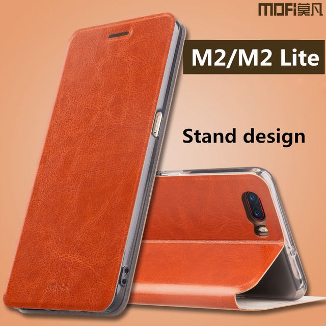 MOFI Flip PU Leather Smart Sleep Stand Cover Case For Nubia M2 Global Rom/Nubia M2