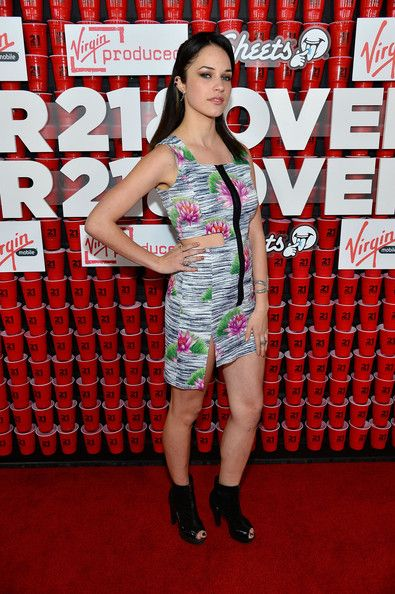 """Alexis Knapp Photos Photos - Actress Alexis Knapp attends Relativity Media's """"21 and Over"""" premiere at Westwood Village Theatre on February 21, 2013 in Westwood, California. - Premiere Of Relativity Media's """"21 and Over"""" - Red Carpet"""