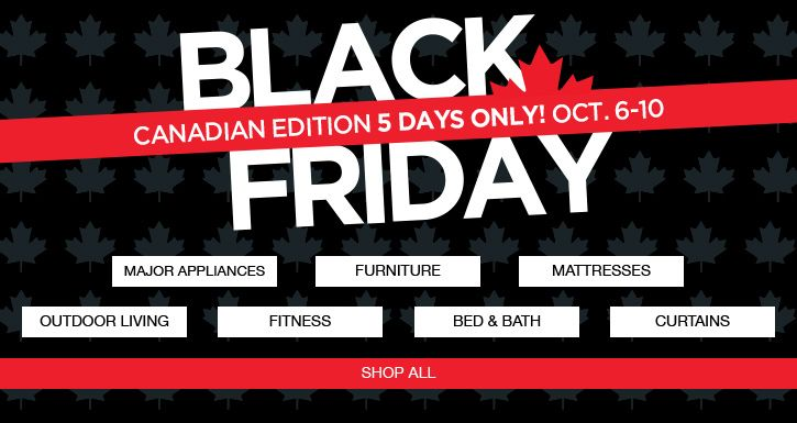 Sears Canada Early Black Friday Sale: Save Hundreds on Select Items  $10 Off When You Spend $50 or $25 Off $100 http://www.lavahotdeals.com/ca/cheap/sears-canada-early-black-friday-sale-save-hundreds/123784