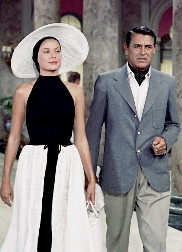 GRACE KELLY and CARY GRANT                              …
