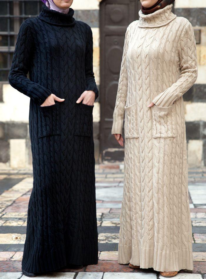SHUKR USA | Cable Knit Dress