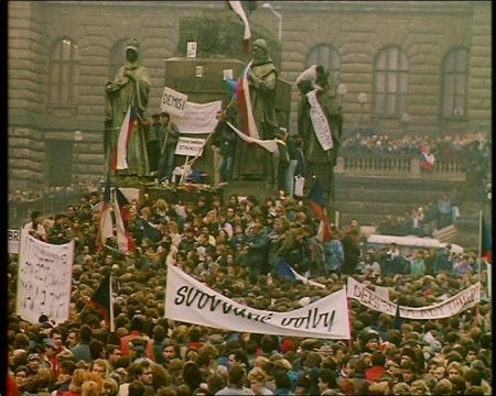 """The Velvet Revolution"" - Prague, 1989"