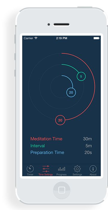 Enso Meditation Timer App.  Wonderful for beginner or advanced meditation practice.  Yoga & Meditation