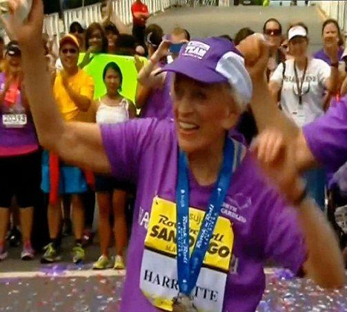 Oto najstarsza maratonka na świecie. Jest nowy rekord. http://tvnmeteoactive.tvn24.pl/bieganie,3014/oto-najstarsza-maratonka-na-swiecie-jest-nowy-rekord,170224,0.html