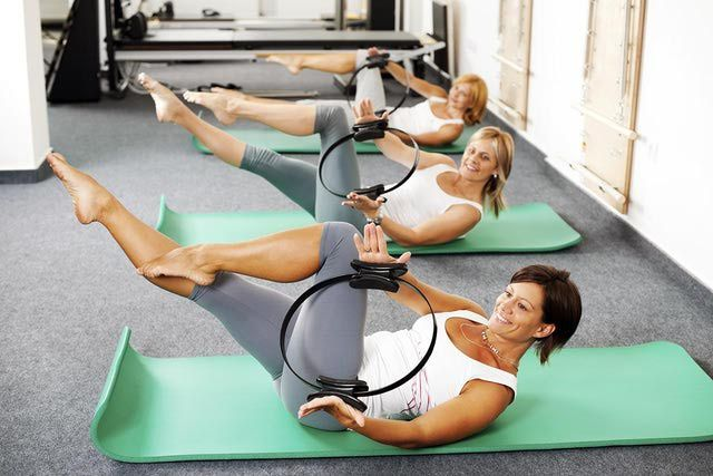 Here is a set of the upper body toning exercises done with the Pilates ring. Learn simple exercises to tone your arms, chest, back and shoulders.