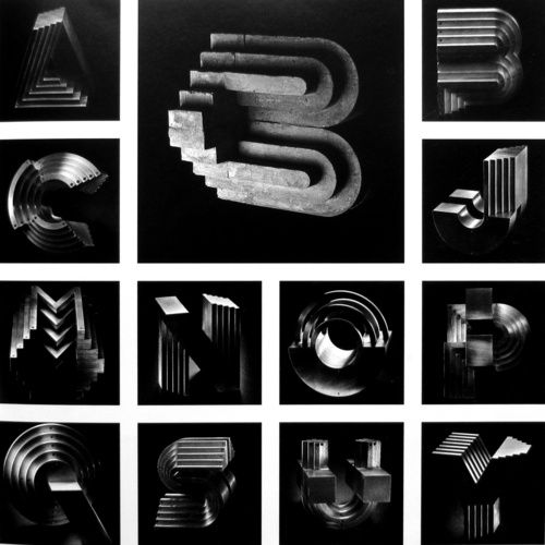 Topographical typography.