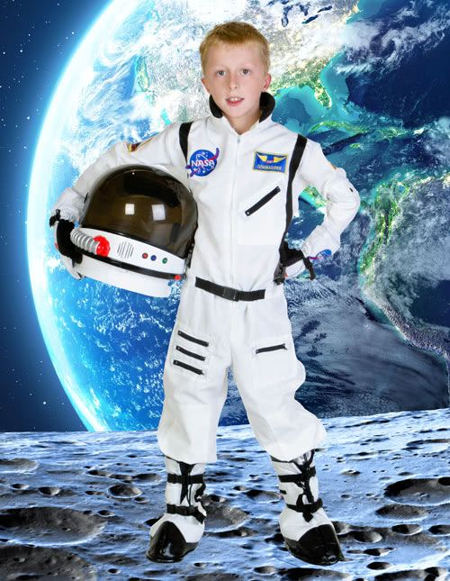 56d0f0a3ca30 Kids Astronaut Costume
