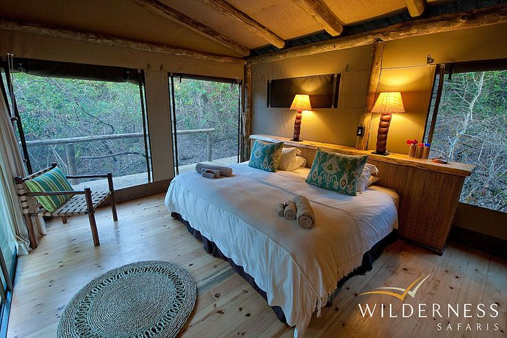 Rocktail Beach Camp - The camp consists of 17 rooms all of which with en-suite bathrooms, open-feel indoor shower and overhead fans. #Tropical #Safari #Africa #SouthAfrica #WildernessSafaris