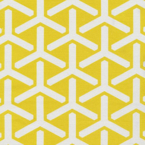 Trident   Daffodil from GeoCentric Canvas by Michelle Engel Bencsko for Cloud9 Fabrics