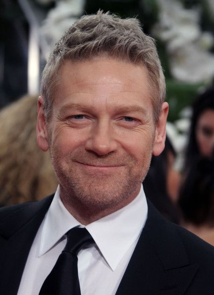 Kenneth Branagh - love him in Wallander; just wished he spoke Swedish! He'd be a kagillion times sexier!