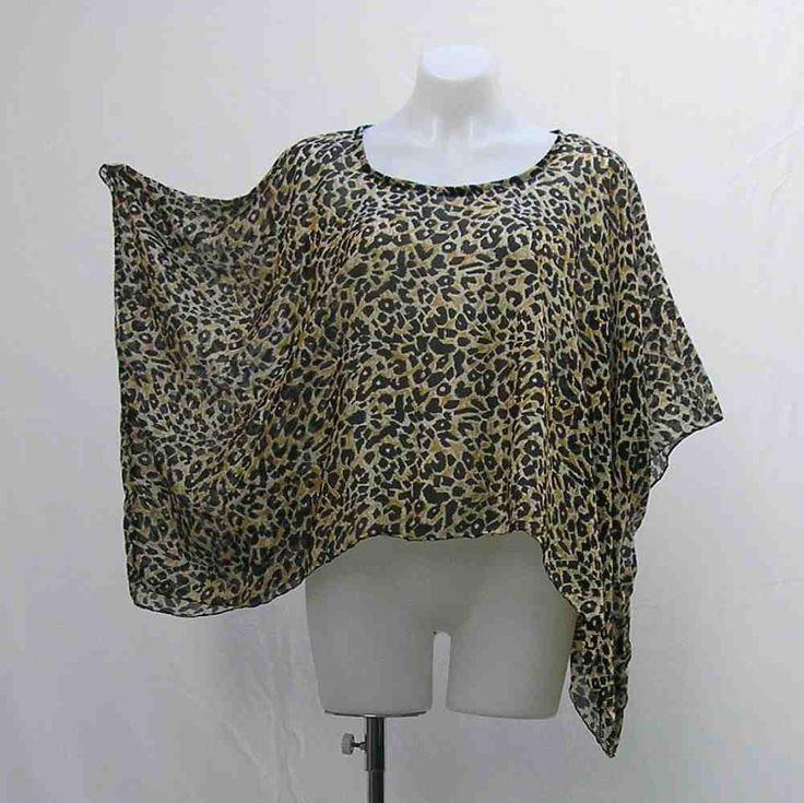 Leopard Print Bolero July 2017