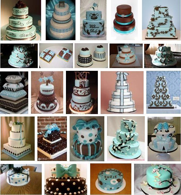 champgan chocolate weddings   Blue and Brown Wedding Ideas - Decorations, Wedding Favors and More