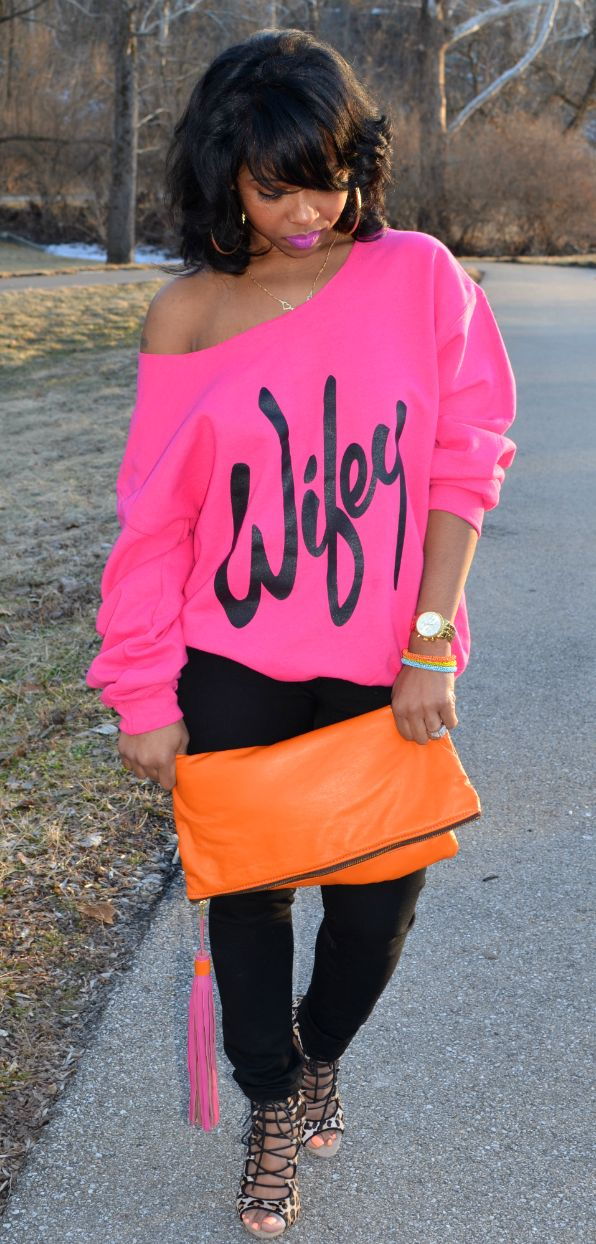 Wifey by Sweenee Style I love this top...I would actually wear this