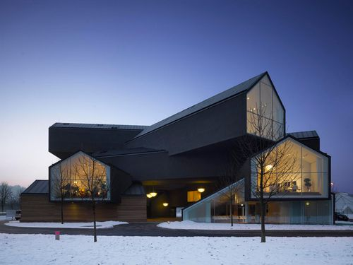 Vitra Haus, Switzerland by Herzog & De Meuron: love this design! |Pinned from PinTo for iPad|