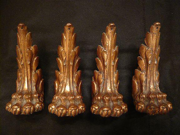Sabots patte de lion antiques pinterest artworks and lion - Patte de lion ...