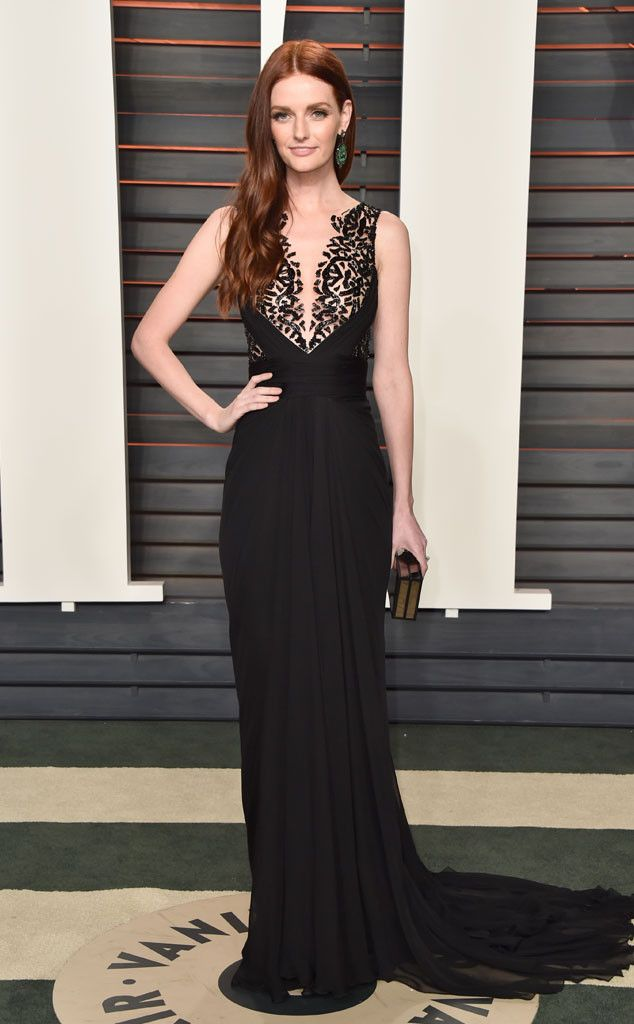 Lydia Hearst from Vanity Fair Oscars Party 2016: What the Stars Wore | E! Online