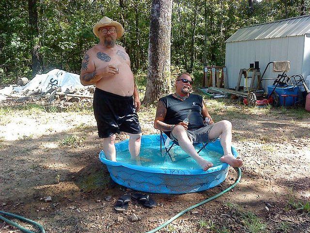 Do whatcha gotta do... redneck pool | redneck pool party | Flickr - Photo Sharing!