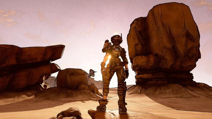 Randy Pitchford Shows off Borderlands 3 Tech and Potential Art at GDC (PHOTOS)