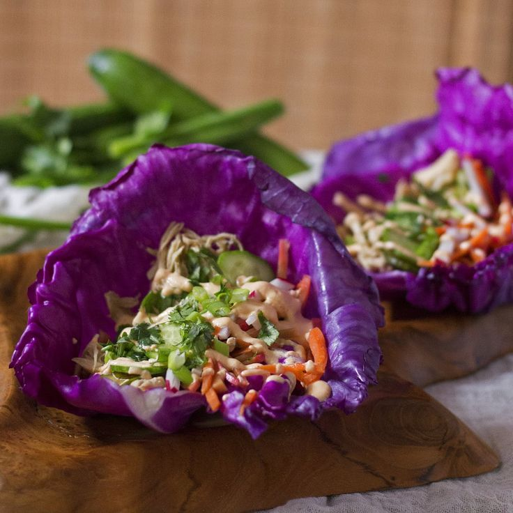 These tasty Banh Mi Chicken Tacos are packed with fresh and bright flavor. They make the perfect healthy weekday dinner. All you got to do is just set it and forget it in the SLOW COOKER and your Bahn Mi tacos will be ready by dinner time! This recipe is super easy, and only uses a few simple ingredients but packs a ton of flavor. Add these tacos into your weekly dinner rotation, you will not be disappointed! {Grain-free, Gluten-free, Paleo, Pegan}