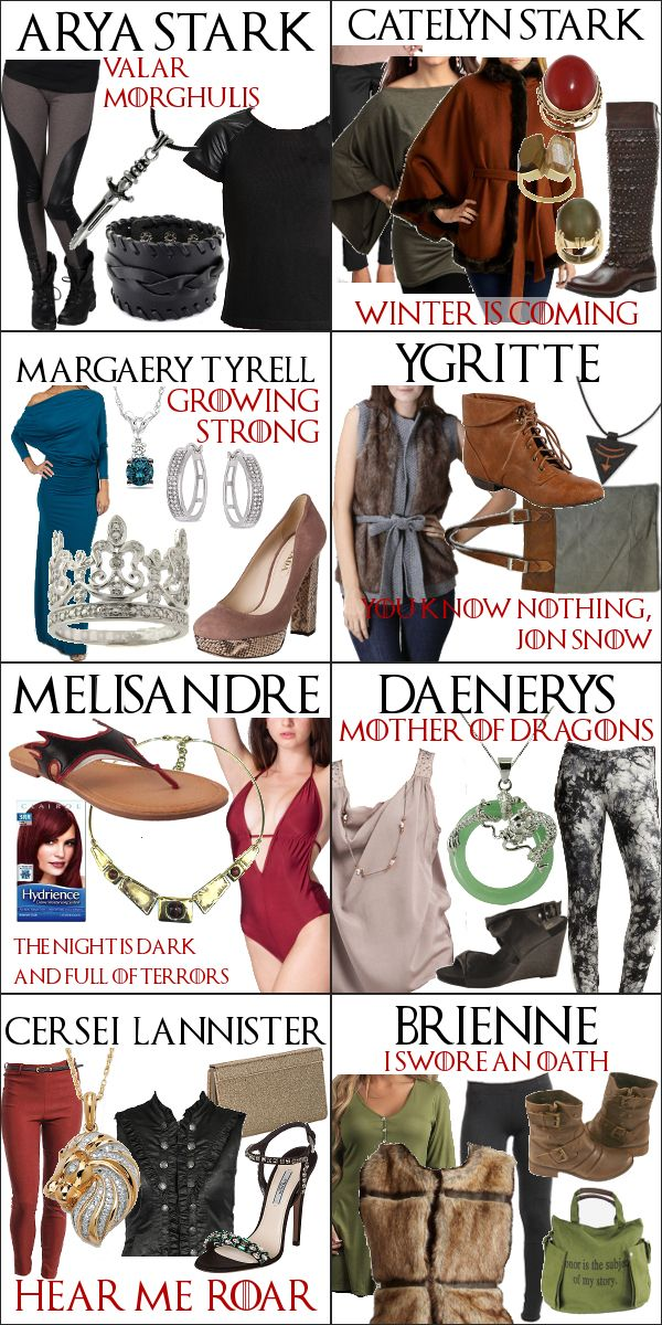 Game of Thrones - The Women of Westeros in 2013 #gameofthrones #got #fashion
