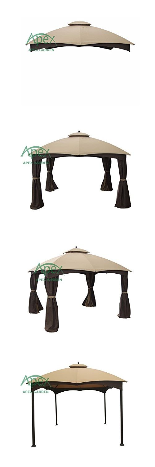Gazebos 180995: Replacement Canopy Top For Lowe S Allen Roth 10 X 12 Gazebo #Gf-12S004b-1 -> BUY IT NOW ONLY: $114.97 on eBay!