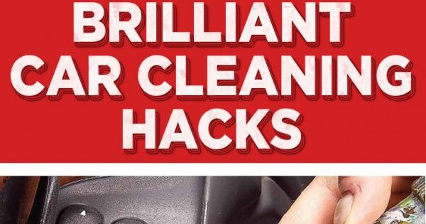 You spend a lot of time in your car and it can get pretty dirty, especially if you commute to and from work. After working so hard to get you places you should pamper your car and make sure it's clean and shiny. Here are 20 car cleaning tricks that... #carcleaning #cleaning #cleaningtipsandtricks