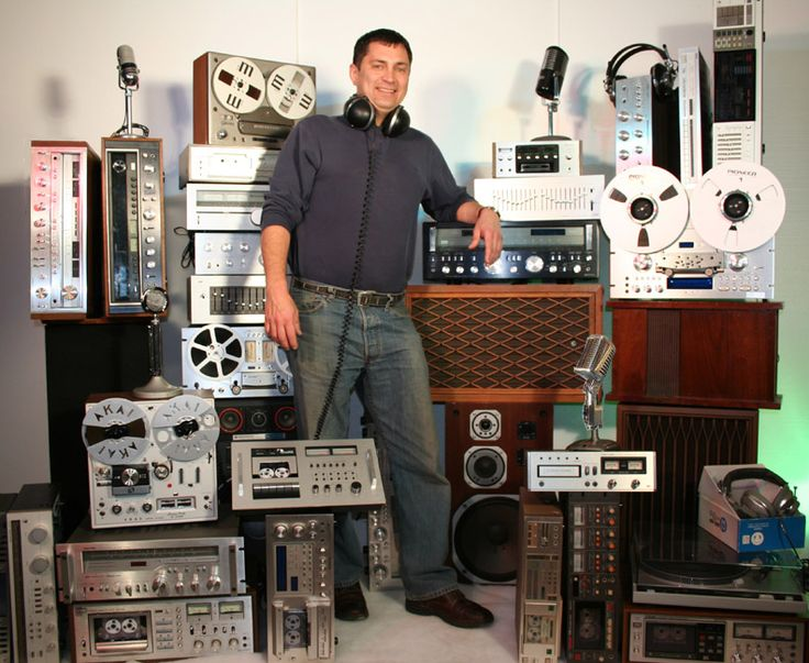 vintage audiophile equipment