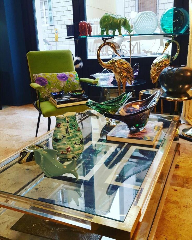 A 1970 huge romeorega coffee table for the living