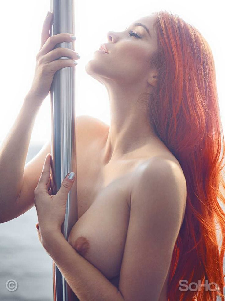 sexy woman nude on the pole