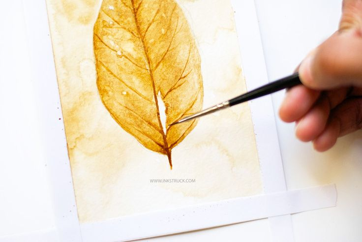 Paint with coffee